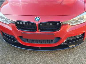 BMW 3 Series M3 Style (F30/F31) Double Slat Grilles - Gloss Black