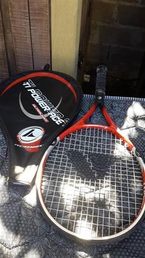 Power ace tennis racket