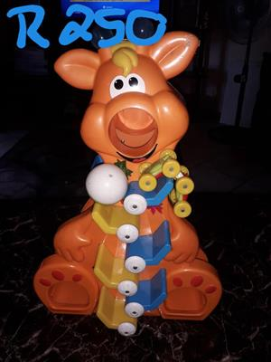 Orange piggy toy for sale