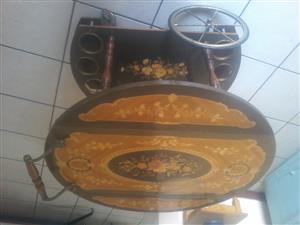 A antique bar table