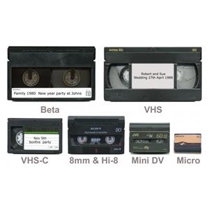 VHS tape to digital