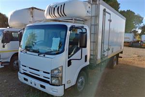 Isuzu with fridge truck