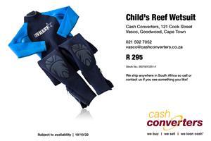 Child's Reef Wetsuit