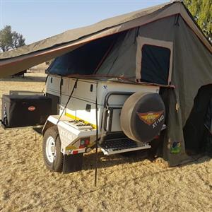 2015 Jurgens XT140 camping trailer