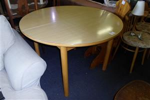 Wooden Round Dining Room Table