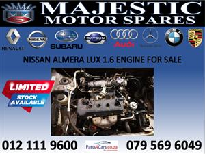 Nissan almera engine for sale