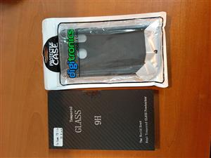 p30 lite cover & protection glass new