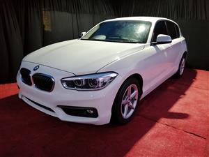 2016 BMW 1 Series 120i 5 door