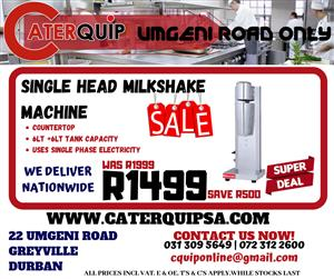 Single Head Milkshake Machine Sale