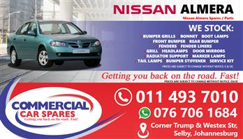 Nissan Almera 03- parts for sale