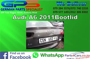 Audi A6 2011 Bootlid for Sale