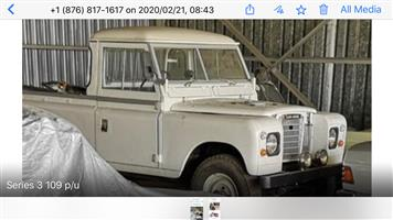 1969 Landrover series 3