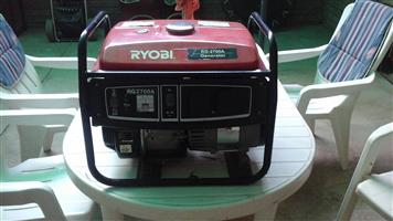 Ryobi power generator model RG - 2700A for sale