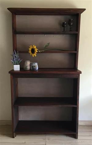 Large Rustic Kitchen/Dining Room Shelving
