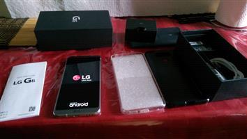 LG G6 32gb brand new never used platinum ice silver brand new