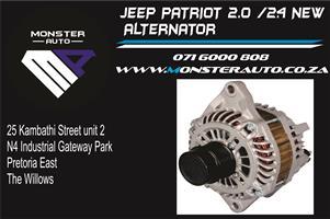 Jeep Patriot 2.4 Alternator ( Jeep Spares / Jeep Parts )