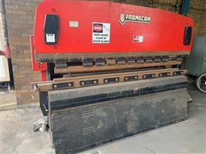 Promecam RG-103 Hydraulic Press Brake/Bender - ON AUCTION