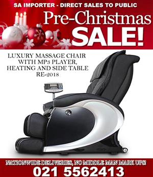 Luxury Massage chair for the ultimate massage therapy
