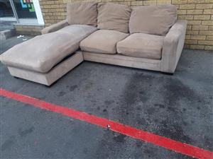 L Shaped Couch for sale.