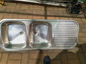 Used double basin for sale