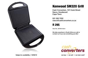 Kenwood SM320 Grill