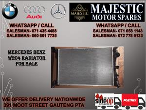 Mercedes benz W204 radiator for sale