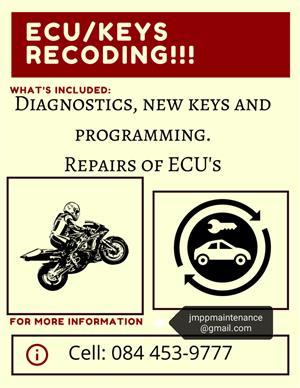 ECU, reprogram, fix, replace and chipped keys.