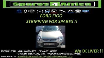 FORD FIGO STRIPPING FOR SPARES
