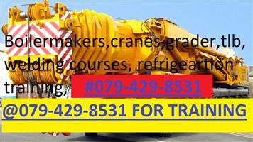 EDUCATIONAL COURSE.CRANE.MACHINERY.0784053361.GRADER. CRANES. DUMP TRUCKS. BOILERMAKER.WELDING COURSES.