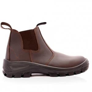 Used, Unwanted gift - Safety Boots Jonsson CHELSEA BOOT BROWN Size 9 for sale  Pretoria - Pretoria North
