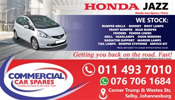 Honda Jazz 2006 parts for sale