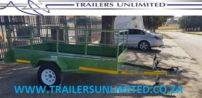 TRAILERS UNLIMITED. 3000 x 1700 x 900mm BRAKED UTILITY TRAILER.