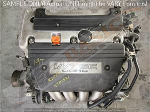 HONDA CIVIC -K20Z2 2.0 DOHC 16V i-VTEC Engine