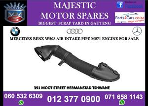 Mercedes benz w203 air intake pipe for sale