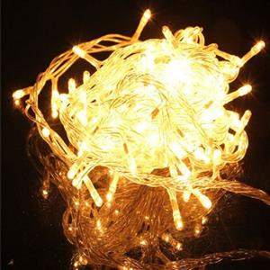 LED Decorative Fairy String Lights Waterproof 220V AC in Warm White. Extendable. Brand New.