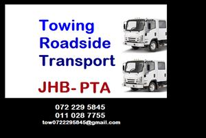 Johannesburg rollback towing assistance