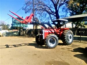 Massey Ferguson 290 with front loader