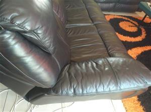 Full Leather lounge set ..