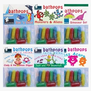 Acorn kids bath time products