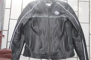 Large mens harley davidson leather jacket S035921B