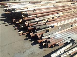 50 mm steel pipes