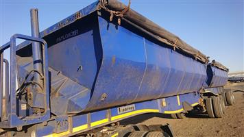 2014 Kearneys 40mᶟ Bin Side tipper