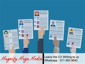 Don't know how to create a CV?