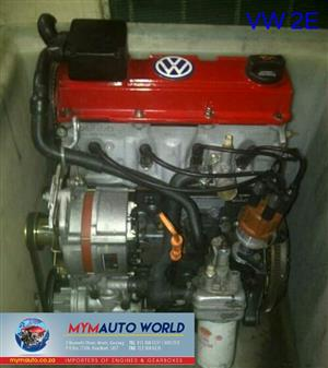 Imported used  GOLF/PASSAT 2L 4CYL, 2E engine Complete