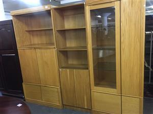 3 Piece Room Divider/ Wall Unit