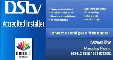 Dstv accredited installer 0739712051