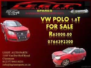 VW POLO 1.8T FOR SALE