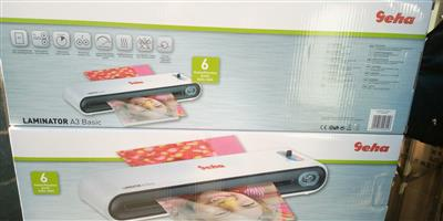 A3-A4 Lamination Machine Brand New Boxed at low cost