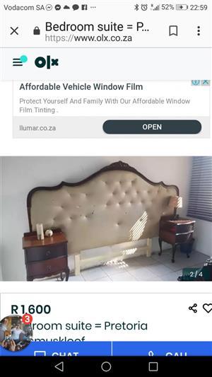Bedroom suite in Pretoria, East Erasmuskloof