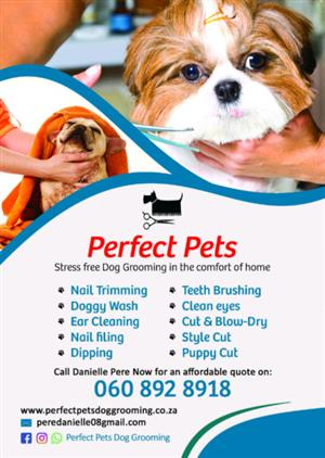 Mobile Home Pet Grooming
